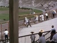 End of Summer 1961 keirin bike racing velodrome 2.5