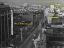 Mitsukoshi Department Store shinjuku Danger Stalks Near 1957