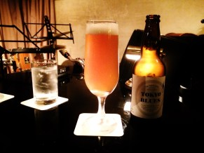 Jazz club Naru Ochanomizu Tokyo Blues beer