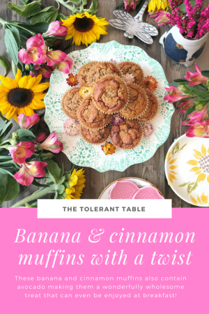 Banana and cinnamon muffins Pinterest
