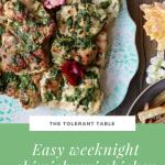Easy Weeknight Chimichurri Chicken Pinterest