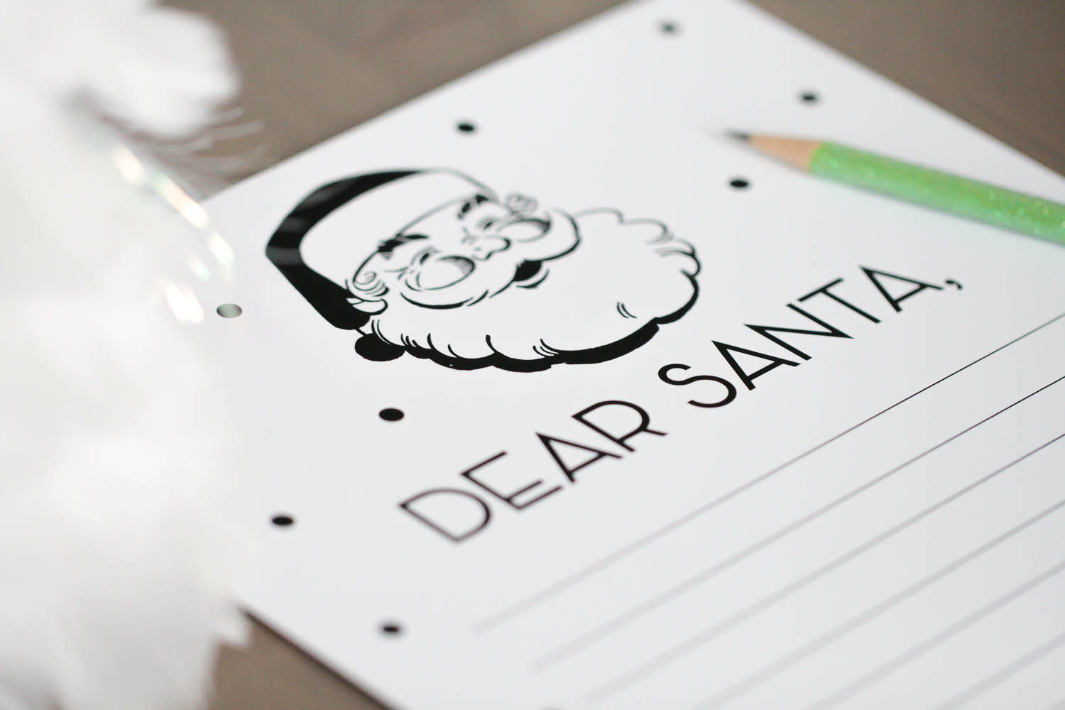 12 Fabulous Holiday Printables Dear Santa