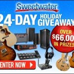 24-day Holiday Giveaway, a $66,000 Promotion by Sweetwater!