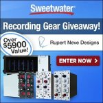 Sweetwater Recording Gear Giveaway - Rupert Neve Designs