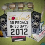30 Pedals in 30 Days 2012
