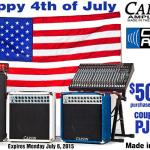 Carvin Amplifiers Factory Tour & Happy 4th of July!