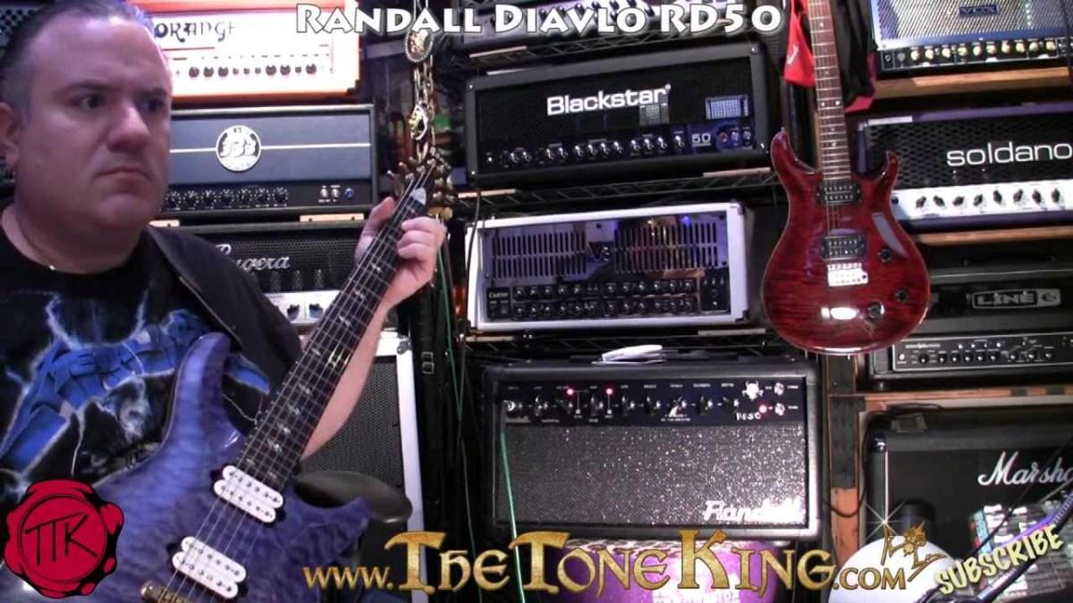 Randall Diavlo Rd50 Demo Review Using Ed Roman Quicksilver Morley Mark 1 Tremonti Power Wah Pedal Bh Photo Guitar Tube Amp The Tone King