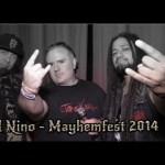 Ill Nino Interview - Mayhemfest 2014 - The Fans, New LP, Gear & More!