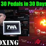 TWA (Totally Wicked Audio) Triskelion - UNBOXING - 30 Pedals in 30 Days 2015