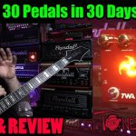 TWA (Totally Wicked Audio) Triskelion - Demo & Review - 30 Pedals in 30 Days 2015