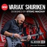 Line6 VARIAX SHURIKEN - NAMM 2017