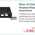 Friedman makes pedalboards too?  Yes they do ...