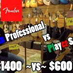 Fender PLAYER vs. American PROFESSIONAL Series Guitar. Which do you like best?