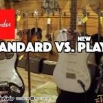 Fender Players vs. Fender Standard Series - Which do you like best?  Summer NAMM 2018