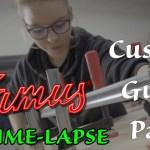 GUITAR BUILD Part 3 - FRAMUS Custom Guitar - GuitCon2018 GuitCon18