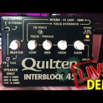 Quilter Labs Interblock 45 LIVE DEMO & REVIEW