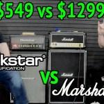 BLACKSTAR vs MARSHALL - HT-20 MkII vs JCM800