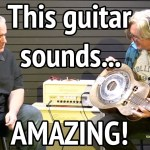 DIY Hubcap Guitar Sounds like CROSSROADS!