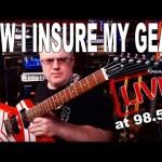 TTK LIVE - HOW I INSURE MY GUITARS!