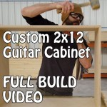 BUILD VIDEO!  Custom 2x12 Guitar Cabinet from Mojotone! British Bluesbreaker