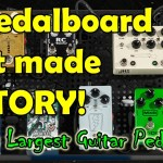 Sweetwater's WORLDS LARGEST PEDALBOARD - Unboxing & PlayThrough 10 Overdrive Pedals!