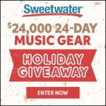 Sweetwater $24,000 24-Day Holiday Giveaway