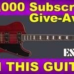 WIN THIS 2020 ESP LTD Deluxe Phoenix-1000 GUITAR!