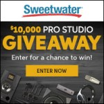 Sweetwater 10K Pro Studio Giveaway!