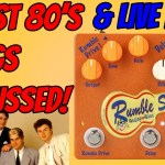 TTK Live - Walk down memory lane of 80's popular music & a PEDAL that sounds GREAT! Rumble Seat!