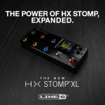 Line 6 HX Stomp XL is ... the HX Stomp Expanded!