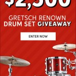 Sweetwater Gretsch Renown Drum Set Giveaway