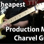 Least Expensive Production Charvel Guitar they make!  Stock Duncan Distortion set!  Whoo hoo