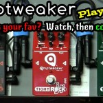 AmpTweaker Play-Thru - JR Series TightMetal, TightRock & TightDrive