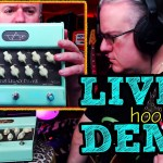 CARVIN STEVE VAI LEGACY DRIVE PREAMP PEDAL - First Look - LIVE