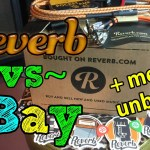 Is REVERB the new eBay?  Unboxing Reverb.com SWAG!