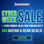 CyberMonday Deals are on at Sweetwater!