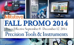 Mitutoyo Fall Specials