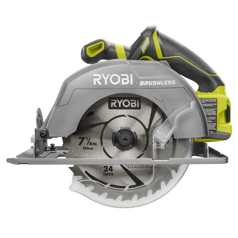 Ryobi 18v one cordless 7 14 in brushless circular saw thd ryobi 18v one cordless 7 14 in brushless circular saw thd prospective greentooth Image collections