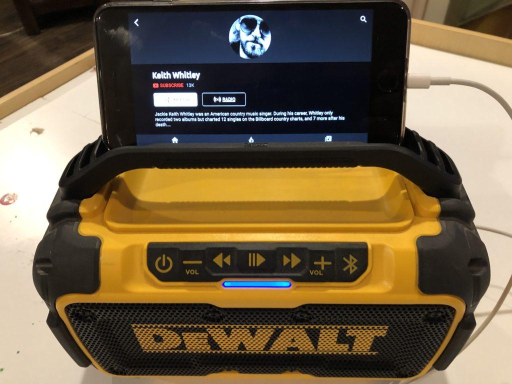 DEWALT 20-VOLT MAX BLUETOOTH SPEAKER REVIEW - The Tool Pig