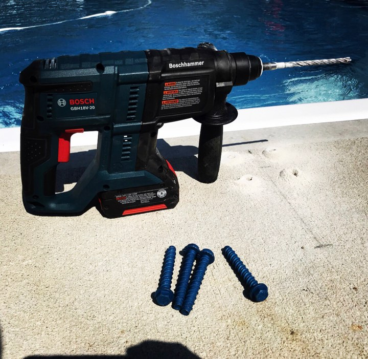 Bosch 18V Cordless SDS Plus Rotary Hammer Review - The Tool Pig