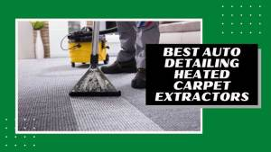best auto detailing heated carpet extractors reviews
