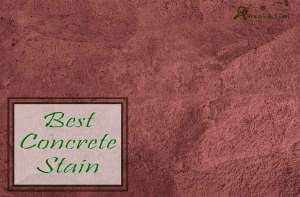 best concrete stain for outdoor