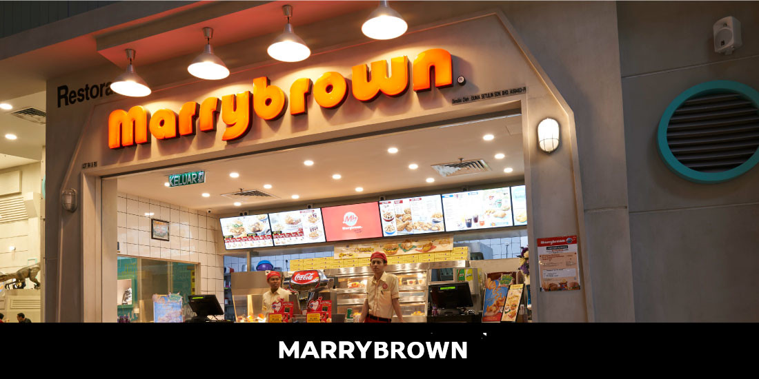 Marrybrown is a Malaysian-based halal-certified fast food restaurant chain established in 1981. It was the first local fast food chain to franchise its business in Malaysia with more than 130 restaurants locally. Marrybrown has over 350 international outlets serving fried chicken, burgers, finger food, desserts, and beverages aside from serving Malaysian local dishes such as seafood, nasi lemak, noodles, and porridge. Location: LEVEL 5