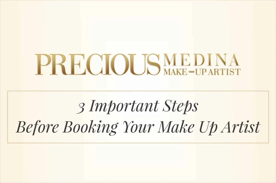 booking makeup artist