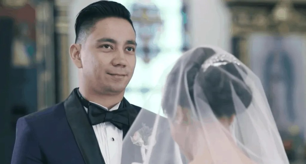 Sean and Karel Marquez' wedding