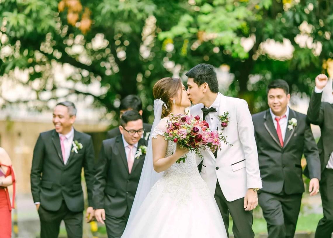 classic romantic wedding