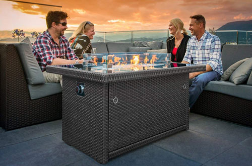 Top 10 Best Indoor/Outdoor Propane Fire Pits Reviews In 2020 on Outland Living 401 id=64761