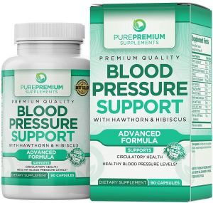 pure premium blood pressure support supplements
