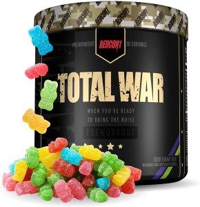 total war pre workout, redcon total war pre workout, total war pre workout review, total war pre workout drink