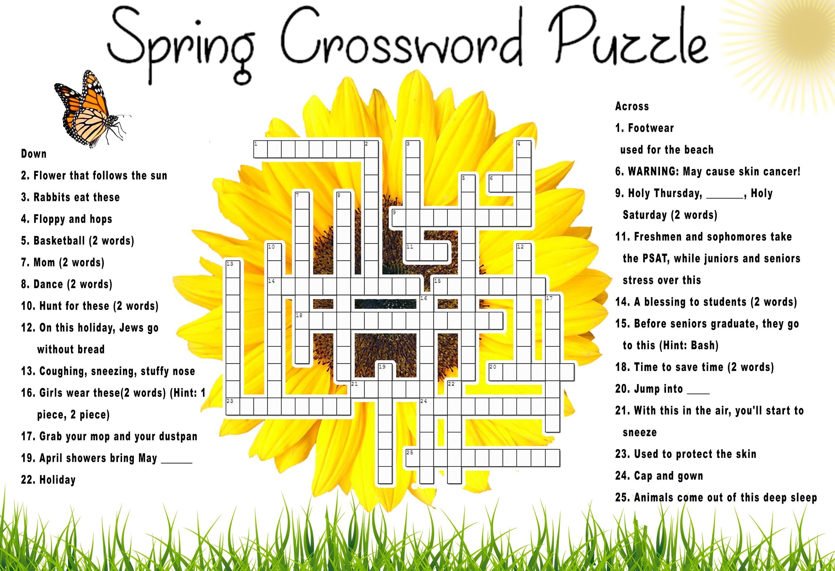 Flowering Plant Crossword Clue 8 Letters
